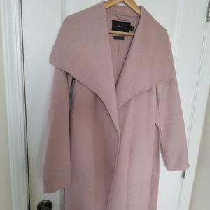 Tahari wrap wool blend Coat